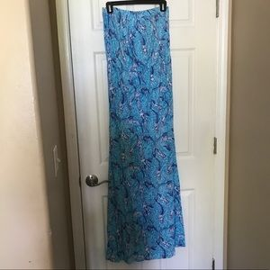 Strapless maxi dress - Worn once